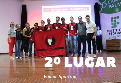 2º lugar - Equipe Spartron