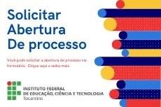 Abertura de processo via formulário online