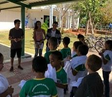 Campus Gurupi recebe estudantes da rede municipal de ensino