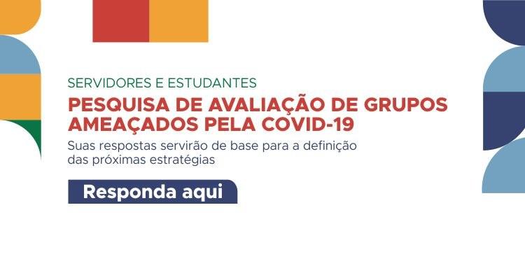 Comitê de Risco do IFTO realiza pesquisa de avaliação sobre grupos ameaçados pela Covid-19