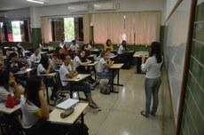 Registro da volta às aulas no Campus Paraíso do Tocantins