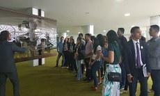 Estudantes visitaram o Congresso Nacional
