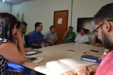 Equipe gestora visita Campus Gurupi