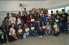 Participantes do Café com Prosa