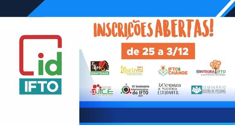 Identidade IFTO lança plataforma para inscrições no evento