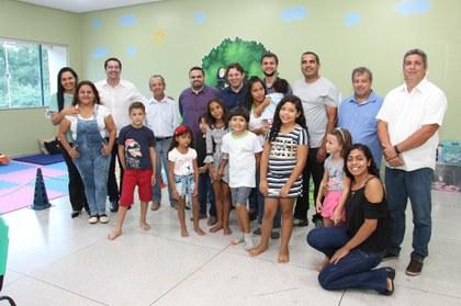 Comunidade e gestores comemoraram conquistas
