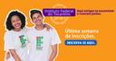 Inscrições para Processo Seletivo e Vestibular do IFTO terminam no próximo domingo, 22
