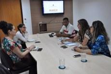 Representantes do IFTO e do Comep articulam curso para reeducandas a estilo do Mulheres Mil