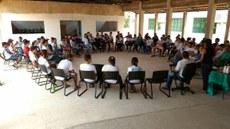 Roda de conversa no Dia Nacional da Luta da Pessoa com Deficiência.