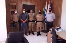 Membros da diretoria de ensino durante a visita ao IFTO. - Foto: Polícia Militar