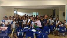 Estudantes da Estadual Deoclides Muniz, de Almas (TO), participam do projeto