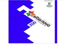 Pra cego ver: Layout da capa da Revista Sítio Novo com logomarca do IFTO, inscrição no e-ISSN,nome da revista,  volume 4, número 2, abril/junho de 2020. Fim da descrição.
