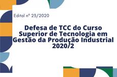 Defesa de TCC GPI 2020.2