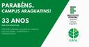 33 anos do Campus Araguatins