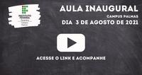 Palmas realiza Aula Inaugural para novos estudantes